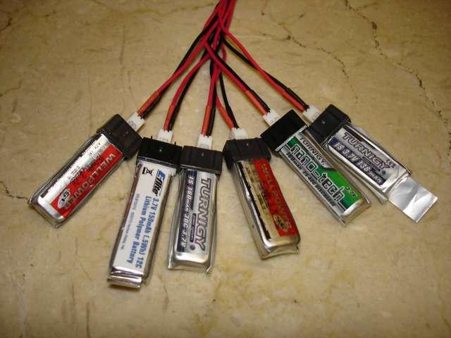 Baterías LiPo cargando en paralelo