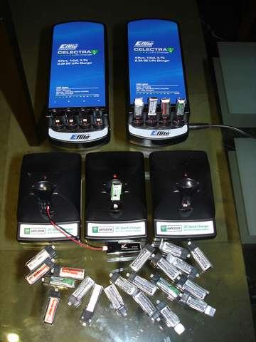 Cargadores para micro baterías 1S