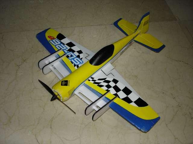 Extensiones de alas con slots instaladas